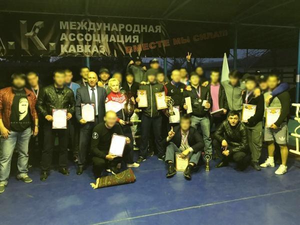 Открытие I- х Всероссийских спортивных сборов по боксу и кик - боксу.